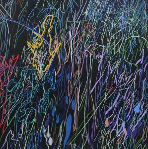 painting entitled Long by Linda Hains