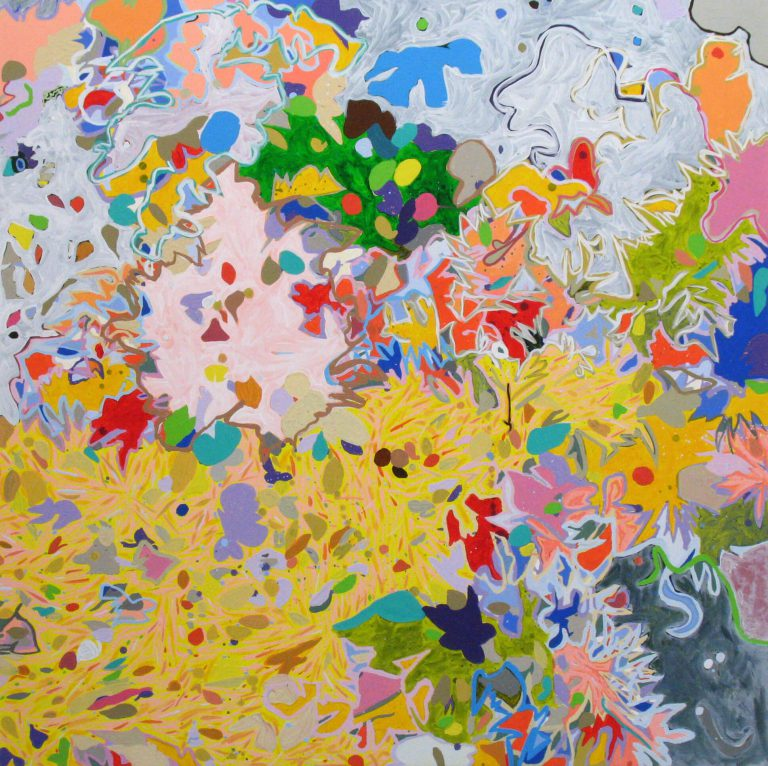 painting entitled Sparkle by Linda Hains