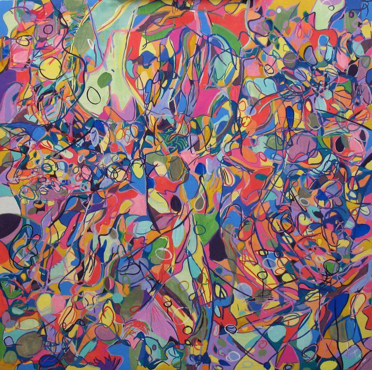 painting entitled Sundance Wind by Linda Hains