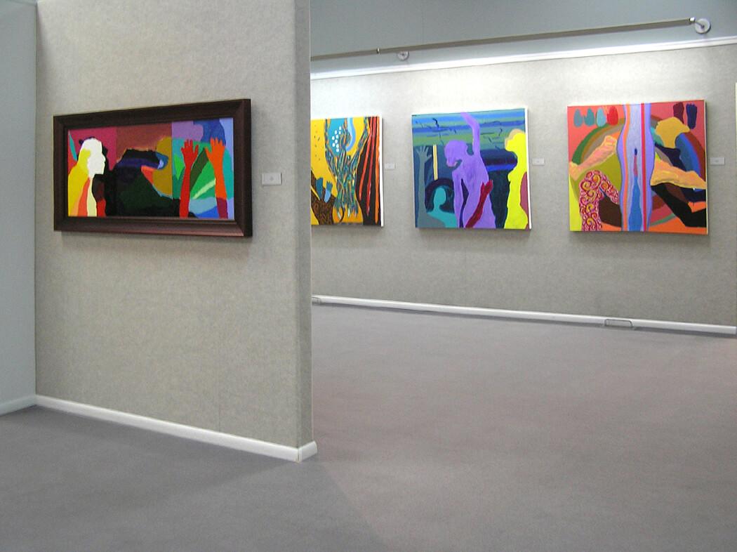 Wyoming Exhibition, Linda Hains, installation views #3