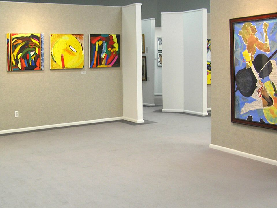 Wyoming Exhibition, Linda Hains, installation views #5