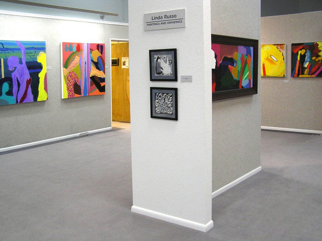 Wyoming Exhibition, Linda Hains, installation views #6